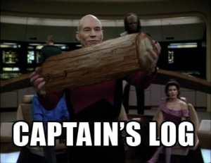 Captain Morgan is on deck