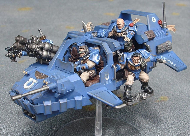 40k – Ultramarine Army List – Playing the army you like