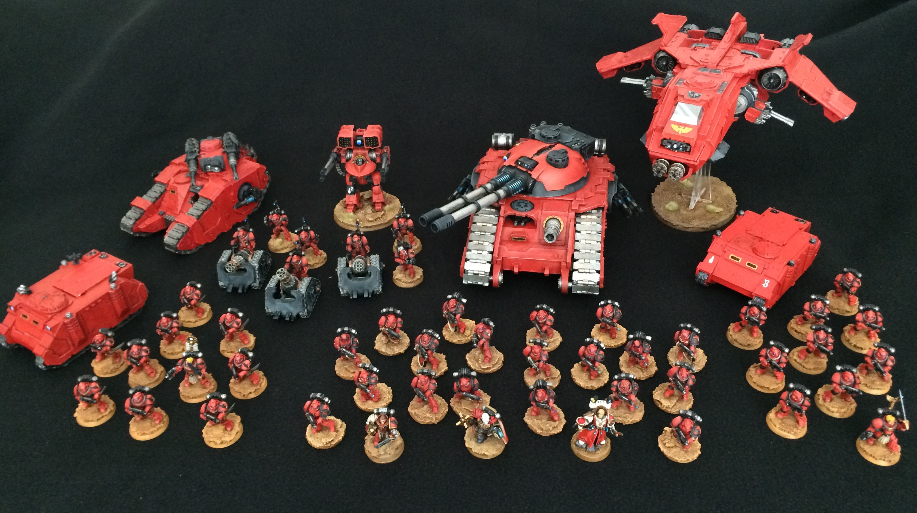 Captain's Log – Blood Angels Hobby