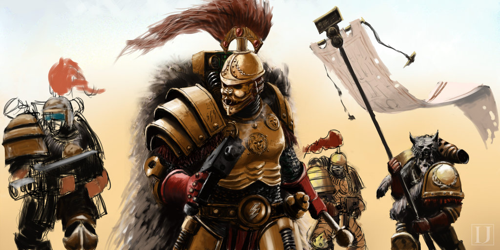 Warhammer 30k – The Thunder Warrior Conspiracy – Who dunnit?!