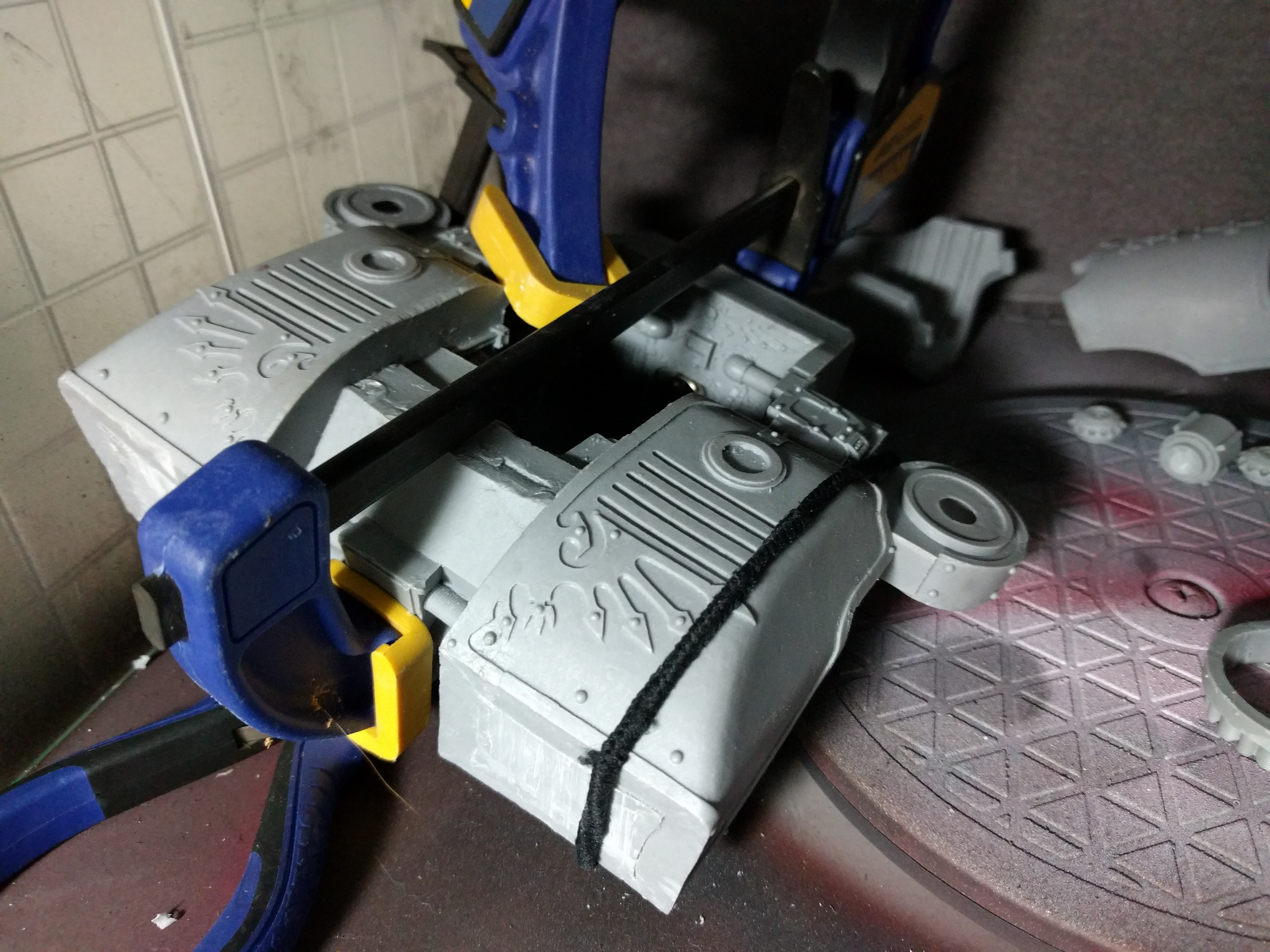 FTGT Painting WIP Wednesday: Warhound Titan Assembly