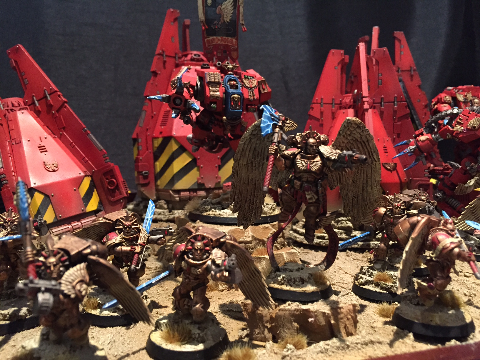 Forging a Narrative – Geoff Osborne's Blood Angels