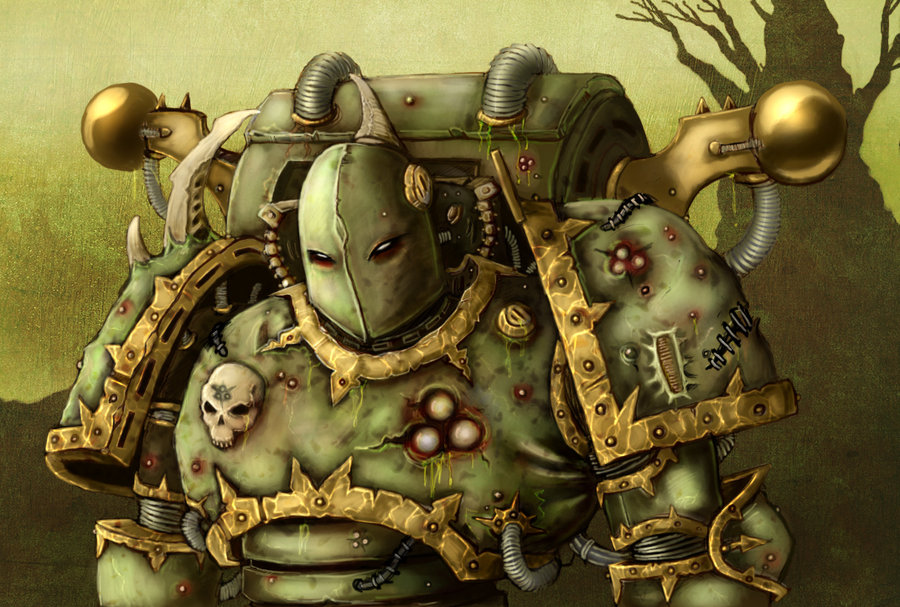 Death Guard – Traitor Legions – Ohh, How I love Thee