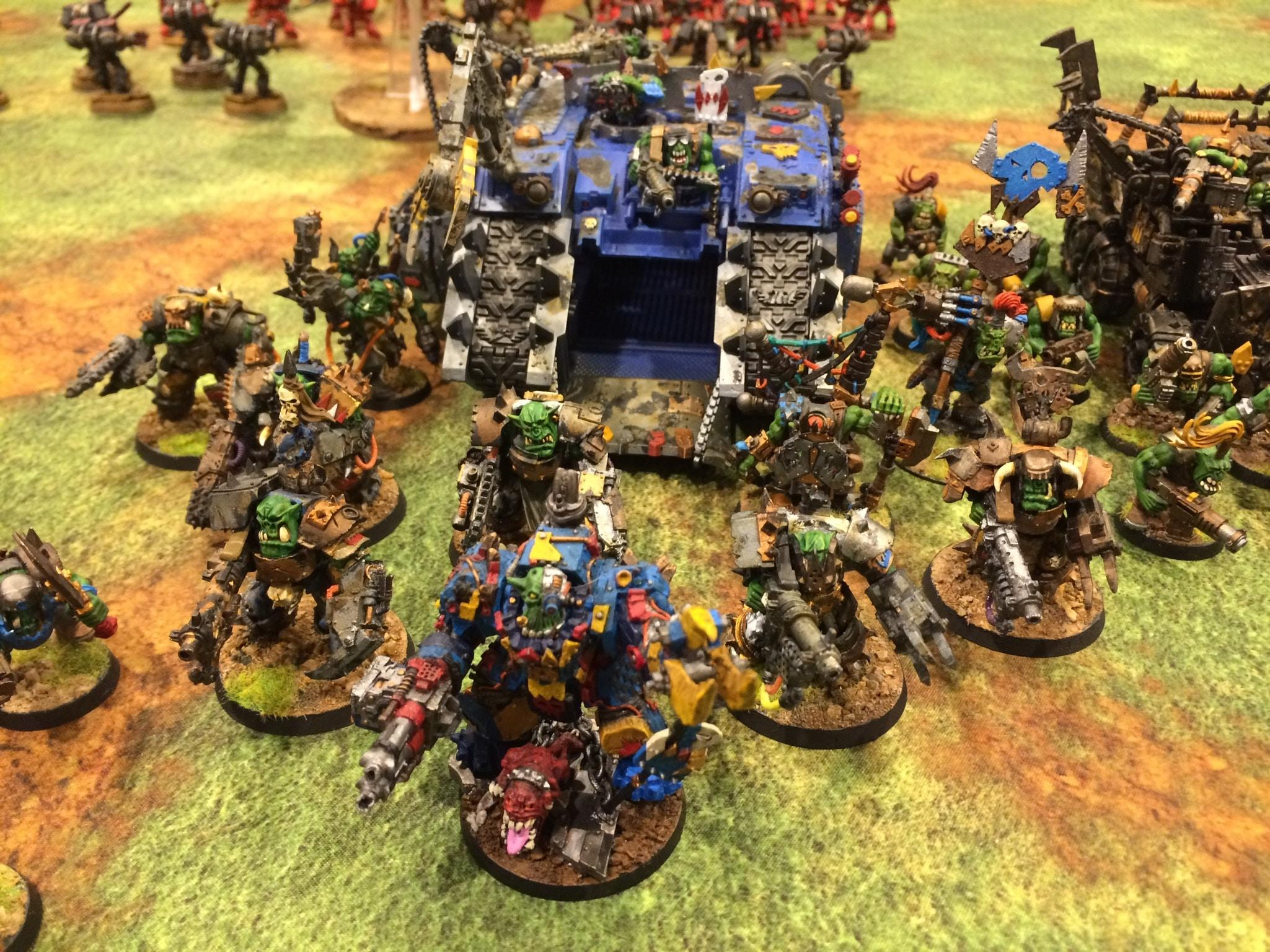 Battle Report – Orks vs. Blood Angels