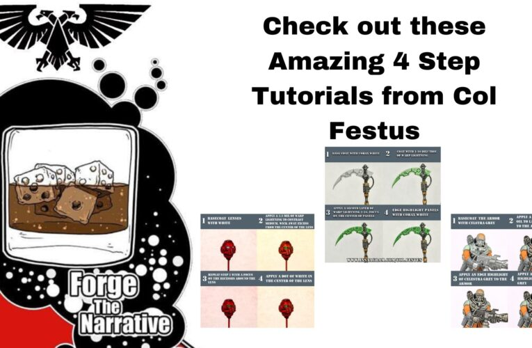 Happy 4th with some 4 Step Painting Tutorials – Col Festus