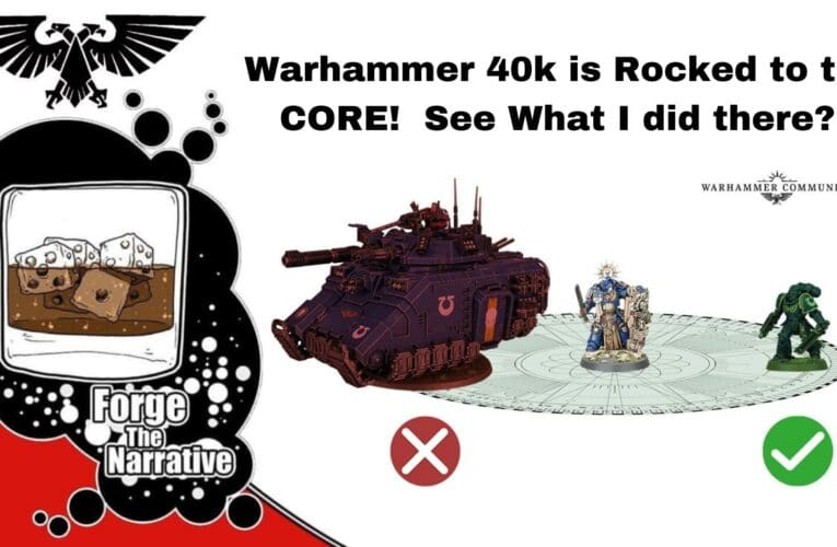 FTN Episode 352 – Is Warhammer 40k Being Rocked to the Core?!