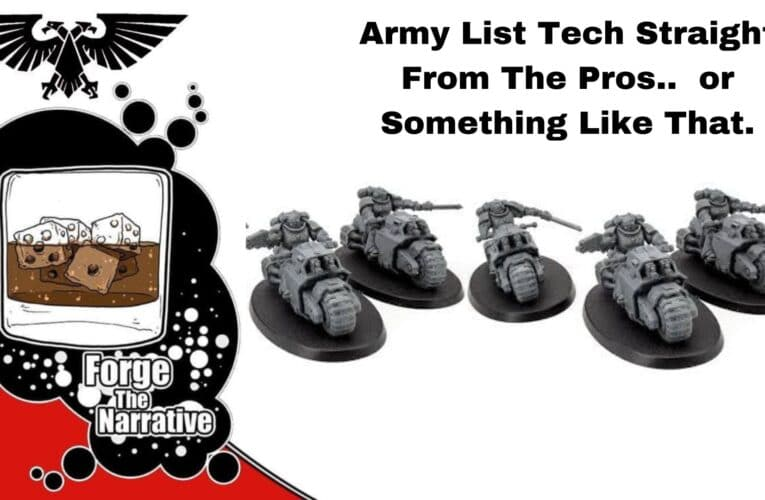 FTN Episode 361 – Deathwatch and Space Wolf Army List Ideas – Which is Stronger?