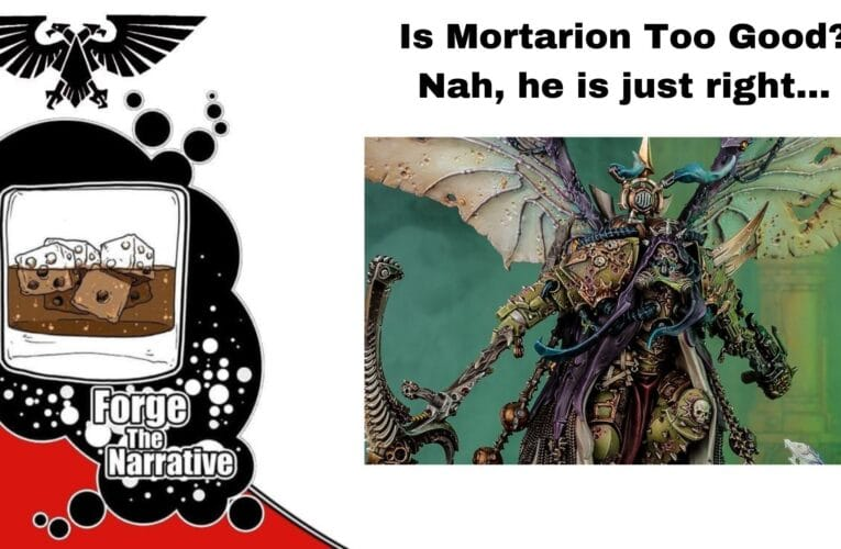 FTN Episode 369 – Is Mortarion Too Good?  Hot or Not? Death Guard Codex Review