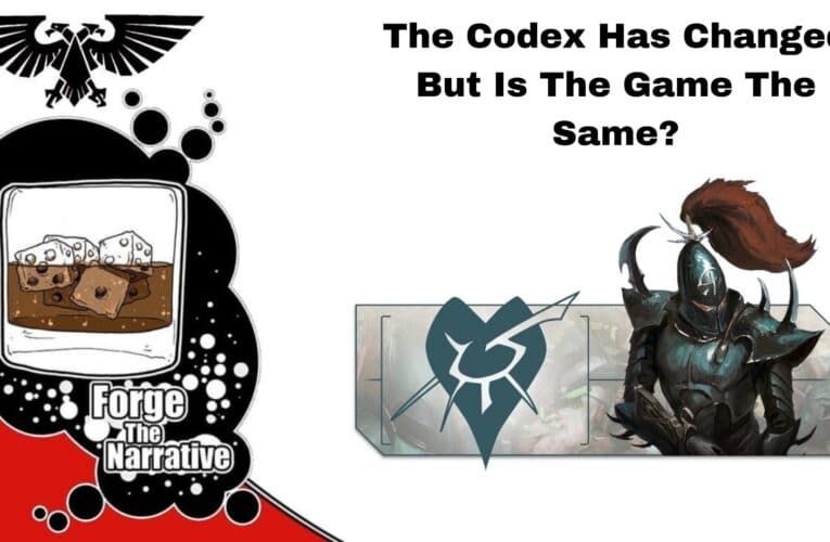 FTN Episode 378 – Will Codex Drukhari Change The Game?  Codex Review Part 2