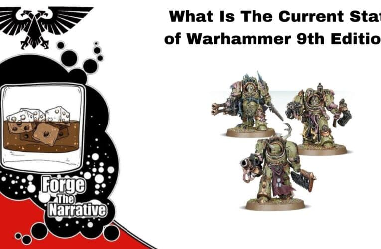 FTN Episode 380 – What Is the State Of 40k 9th Edition? – Who Is Getting Games In?