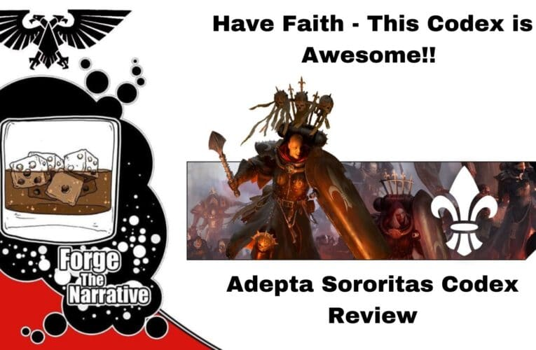 FTN Episode 388 – Adepta Sororitas NEW Codex Review – Get Ready For Holy Fire