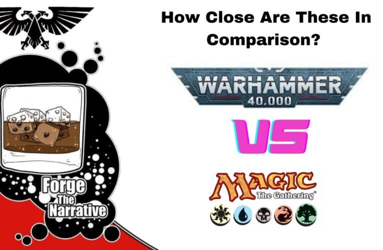 FTN Episode 401 – Warhammer 40k vs. Magic The Gathering – Who Wins?!